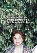 Descargar el libro libro Estudios De FilologÍa Inglesa. Homenaje A La Dra. AsunciÓn Alba Pelayo