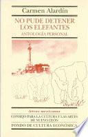 Descargar el libro libro No Pude Detener Los Elefantes