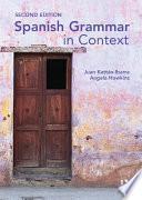 Descargar el libro libro Spanish Grammar In Context