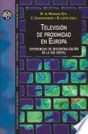 Descargar el libro libro Televisión De Proximidad En Europa