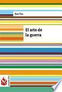 libro El Arte De La Guerra (low Cost). Edición Limitada