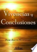 libro Vivencias Y Conclusiones