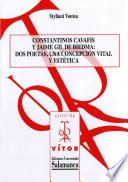 Descargar el libro libro Constantinos Cavafis Y Jaime Gil De Biedma