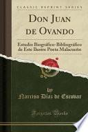 Descargar el libro libro Don Juan De Ovando