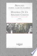 Descargar el libro libro Memorias De Un Soldado Cubano