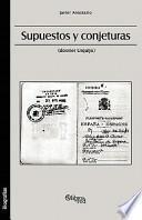 Descargar el libro libro Supuestos Y Conjeturas (dossier Urquijo)
