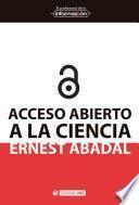 Descargar el libro libro Acceso Abierto A La Ciencia