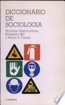 Descargar el libro libro Diccionario De Sociología
