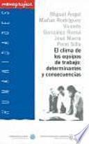 libro El Clima De Los Equipos De Trabajo: Determinantes Y Consecuencias