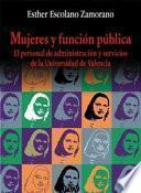 Descargar el libro libro Mujeres Y Función Pública