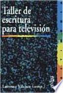libro Taller De Escritura Para Televisión