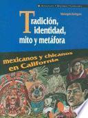 Descargar el libro libro Tradición Identidad, Mito Y Metáfora