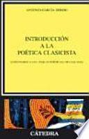 Descargar el libro libro Introducción A La Poética Clasicista