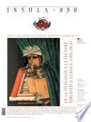 Descargar el libro libro De La Filología A La Lectura: Biblioteca Clásica (Ínsula N° 858, Junio De 2018)