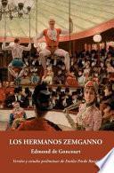 libro Los Hermanos Zemganno