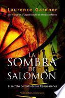 libro La Sombra De Salomon/ The Shadow Of Solomon