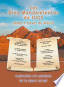 libro Los Diez Mandamientos De Dios Dados A Través De Moisés