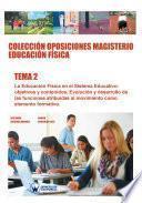 libro Colección Oposiciones Magisterio Educación Física. Tema 2