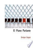 libro El Piano Parlante