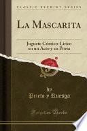 libro La Mascarita