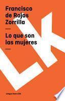 libro Lo Que Son Las Mujeres