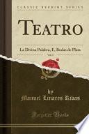 Descargar el libro libro Teatro, Vol. 4