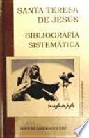 libro Bibliografía Sistemática De Santa Teresa De Jesús