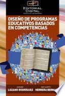 libro Diseño De Programas Educativos Basados En Competencias