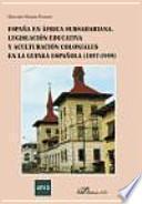 libro España En África Subsahariana