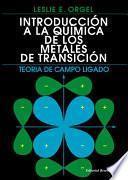libro Introducción A La Química De Los Metales De Transición
