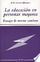 libro La Educación En Personas Mayores