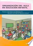 libro Organización En El Aula En Educación Infantil