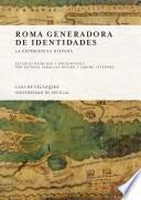 libro Roma Generadora De Identidades