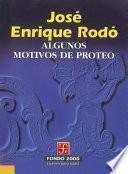 Descargar el libro libro Algunos Motivos De Proteo