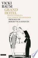 Descargar el libro libro Grand Hotel