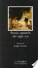 Descargar el libro libro Poesía Española Del Siglo Xix