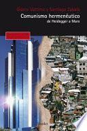 libro Comunismo Hermenéutico