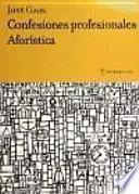 Descargar el libro libro Confesiones Profesionales