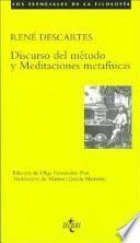 libro Discurso Del Método Y Meditaciones Metafísicas