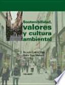 libro Sostenibilidad, Valores Y Cultura Ambiental