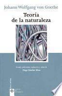 Descargar el libro libro Teoría De La Naturaleza