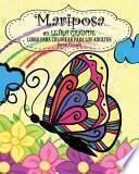 libro Mariposa Libro Para Colorear Para Los Adultos ( En Letra Grande)