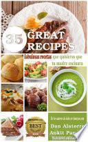 libro 35 Fabulosas Recetas Que Quisieras Que Tu Madre Cocinara