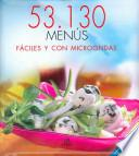libro 53130 Menús Fáciles Y Con Microondas