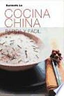 libro Cocina China Rápida Y Fácil