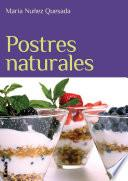 libro Postres Naturales