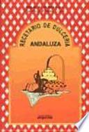 libro Recetario De Dulcería Andaluza