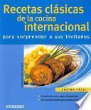 libro Recetas Clásicas De La Cocina Internacional