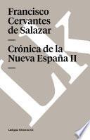Descargar el libro libro Crónica De La Nueva España Ii