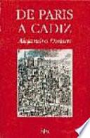 Descargar el libro libro De París A Cádiz